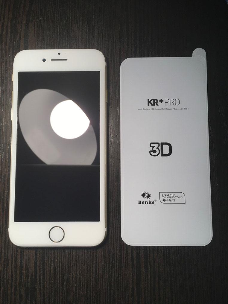 как наклеить защитное стекло на айфон 7
