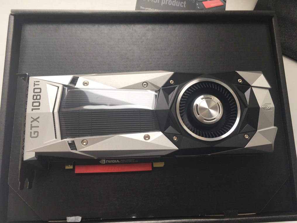 Видеокарта nVidia GeForce GTX1080 Ti MSI Founders Edition цена
