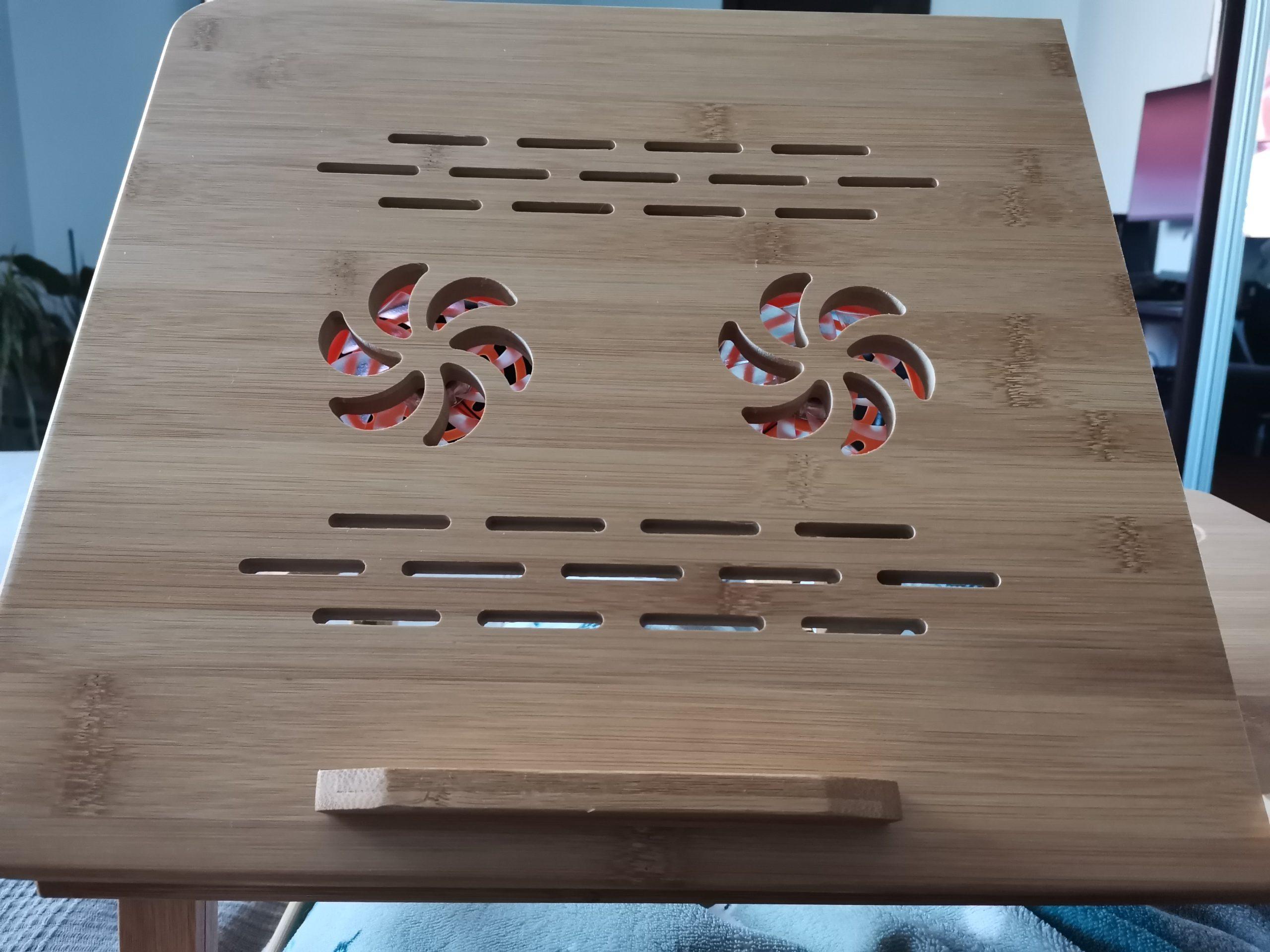 стол для ноутбука с охлаждением