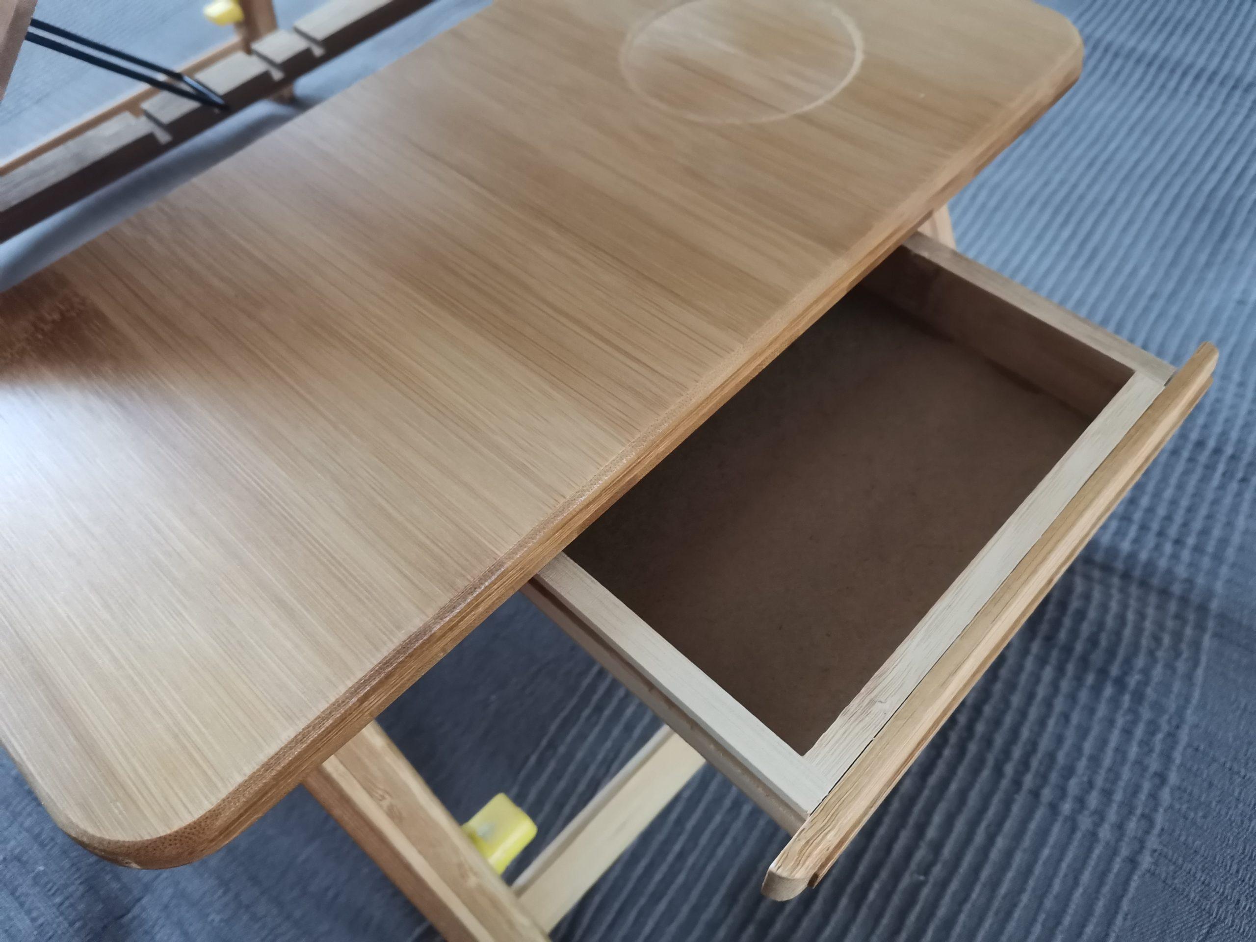 стол для ноутбука из бамбука