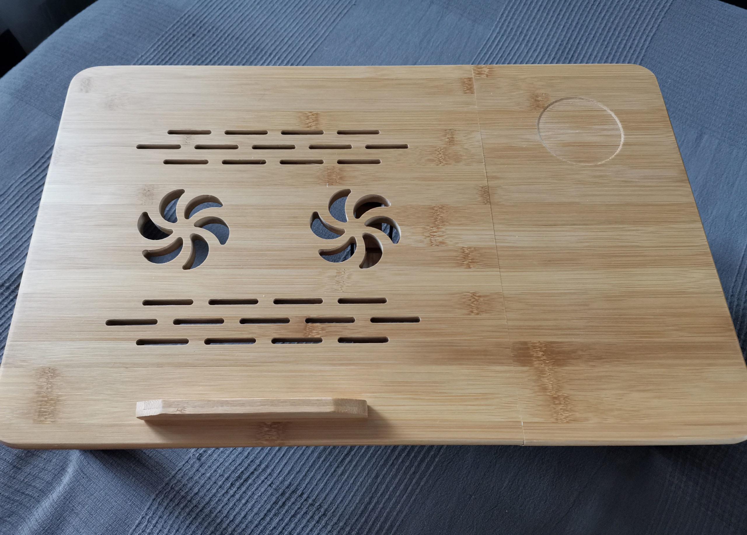 стол для ноутбука из дерева